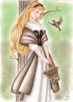 Briar Rose by DreamyNaria