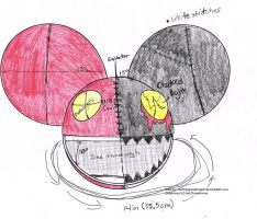 Deadmau5 head sketch idea by Lillypad135