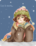 Winter Smile Color Contest. by TheSomedaysDreamer