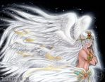 Flowing Angel by Enock