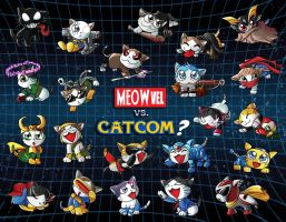 Dear Catcom--err Capcom by suzuran