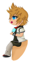 Chibi Roxas by x-shadowed-dawn-x
