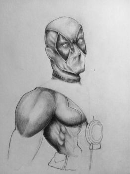 Sassy Deadpool (WIP) by silversunned