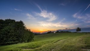 July sunset in Volicina by TomazKlemensak