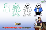Sans - Mink's Tutorials (YouTube) by Minks-Art
