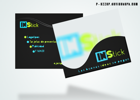 Business Card IN Stick by R-azzor