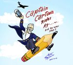 Dick Kulpa rides again by requin