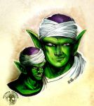 DB - Piccolo - realism by Shinjuchan