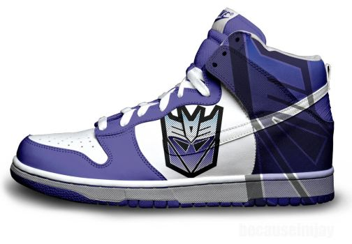 Decepticons Nike Dunks by becauseimjay