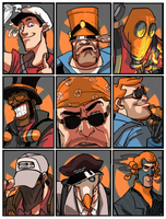 orange fortress2 by Silsol