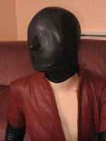 Karina - Her Leather Catsuit 2 by BritBastard