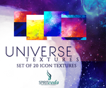 Icon Textures - Universe Set of Textures (20 ) by spiritcoda