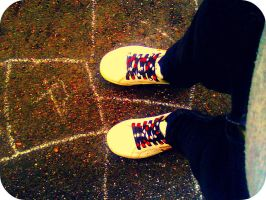 my shoes by esztih