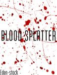 Blood Splatter Brushes by Eden-stock