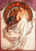 Mucha inspired by FunkyShaeri