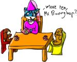 Tea Party for Troy by vampiress-kat