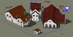 2nd Townscape - Market3 by themozack