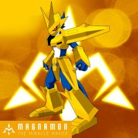 Magnamon - The Miracle Maker by raysaber