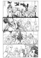 Gore issue# 06 page 13 pencil by alucard3999