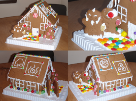 Avatar Gingerbread House by moiramctaggart