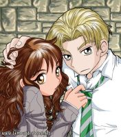Draco+Hermione by kitsune999 by Dramione-Club