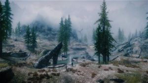 Meanwhile, back in Skyrim 02 by lupusmagus