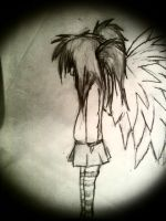 anime girl with wings by Mello-No-1-Fangirl
