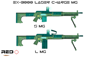 EX-3000 Laser Charge MG by Milosh--Andrich