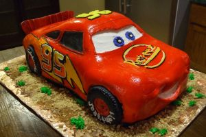 Lightning McQueen by ArtsyLady