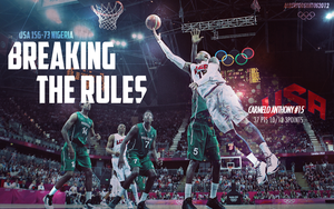 Carmelo Anthony USA Team London 2012 Wallpaper by albertodsantos