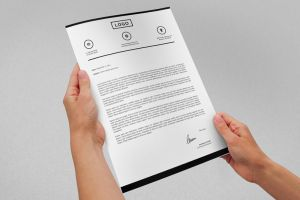 Modern Letterhead vol.20 with MS Word DOC/DOCX by nazdrag