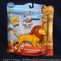 2011 Mufasa Action Figure by dapumakat
