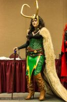 Lady Loki - Las Vegas Comic Expo 2012 by ShinrasFlurry