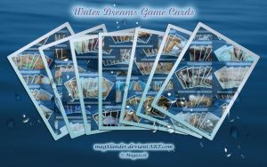 Game Cards Water Dreams I by magXlander