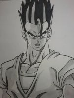 Ultimate Gohan ( request ) by superheroarts