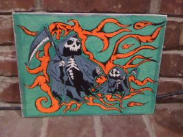 Reaper and Son by kwpatrick