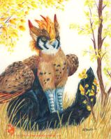Autumn Gryphon by DG-Studios