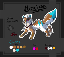 Mirajena Reference sheet by Lizzara