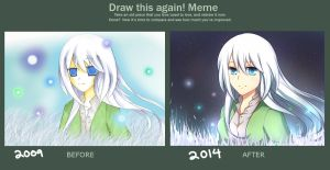 Draw this again Meme by ichigolollipop