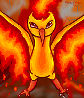 Moltres' Flame by Zephyrift