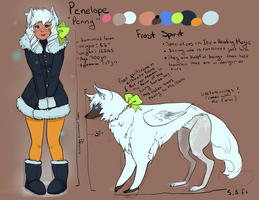 Arctic Event OC: Penny by Xuiology