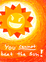 It's the sun again by PineappleSodaCat