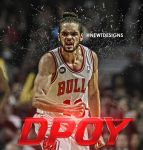 Joakim Noah Defensive Player of the Year by NewtDeigns