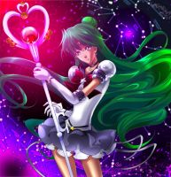 SAILOR PLUTO by KagomesArrow77