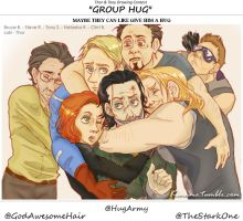 Maybe they can like give him a hug by CABARETdelDIAVOLO
