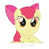 Cute Applebloom by boem777
