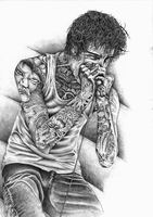 Mitch Lucker by shaneyakuza