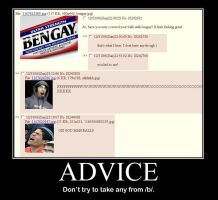 advice from 4chan by desertricker
