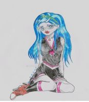 Monster High Ghoulia by LeyreyDani