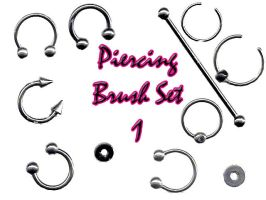 Piercing Brush Set 1 by LaurenW24